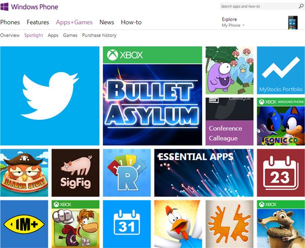 Windows Phone 7 - Apps