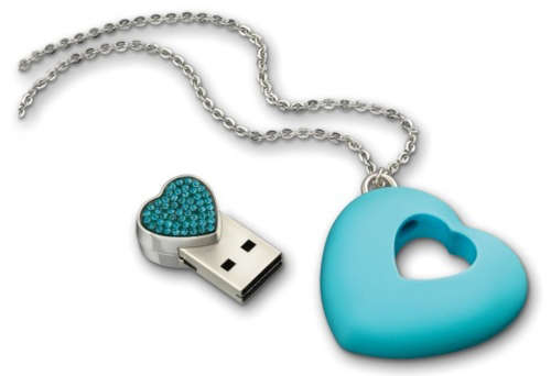 Swarovski USB Necklace
